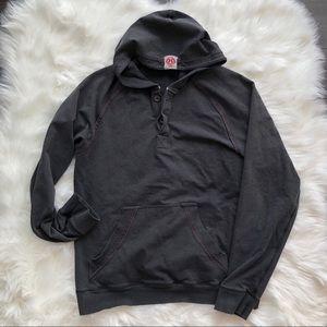 Lululemon Sweatshirt Mens Gray Pullover Hoodie L